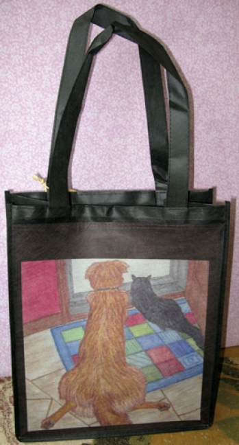 Eco-Grocery Tote Bag -Home