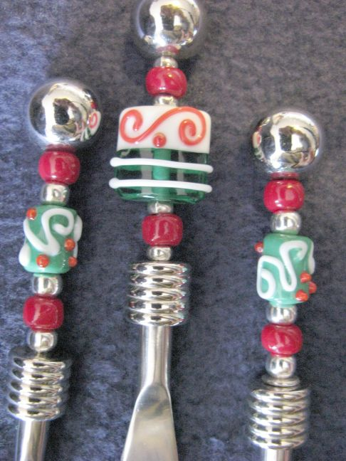 Deluxe Canapé (KFS) with Christmas beads